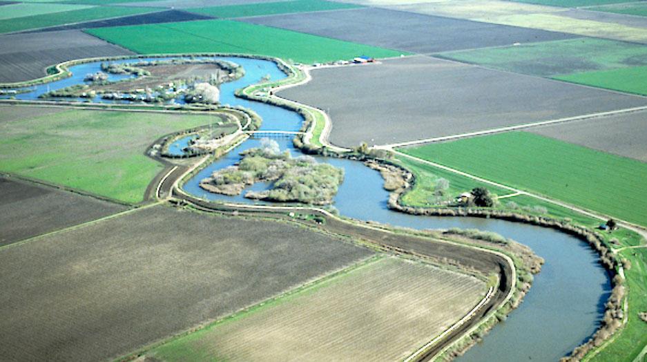 What is Delta Conveyance? - aerial waterway photo